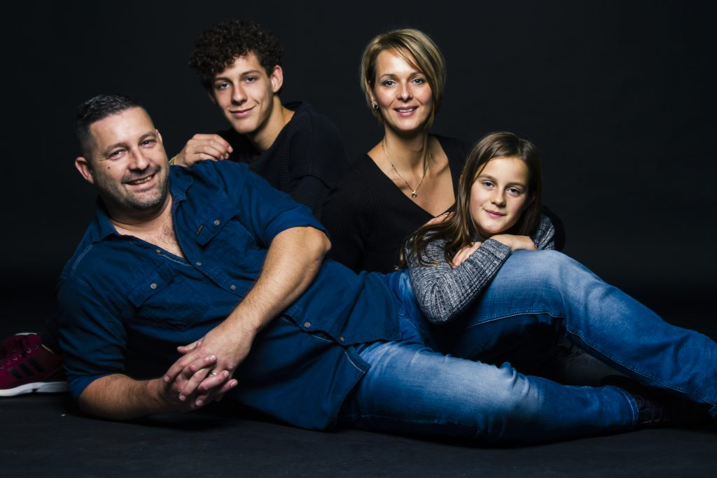 Familie shoot studio