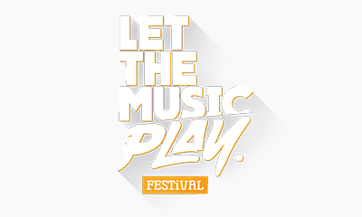 Let the music play logo