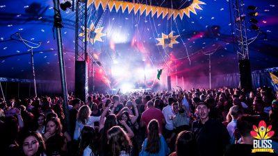 Bliss festival tent